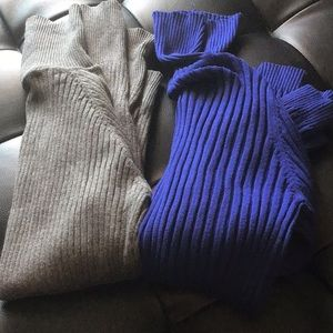 Tops - 2 Turtle neck sweaters